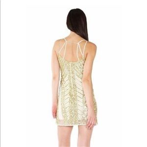 Gold label WOW couture dress
